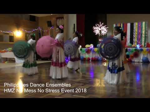 Philippines Dance Ensembles- HMZ No mess No stress Event 2018