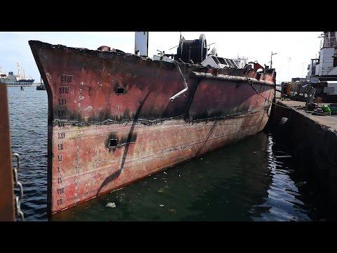 Ship Scrapping/ Djursland, Denmark