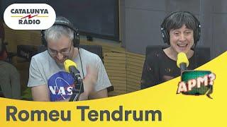 Romeu Tendrum ajuda la Montse Barcón a cantar