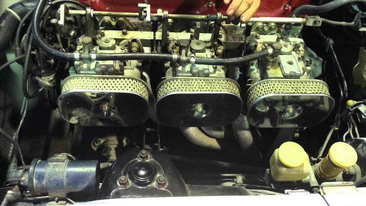 Z240 Engine L28 Nissan Datsun Carburacao Tripla Solex 40