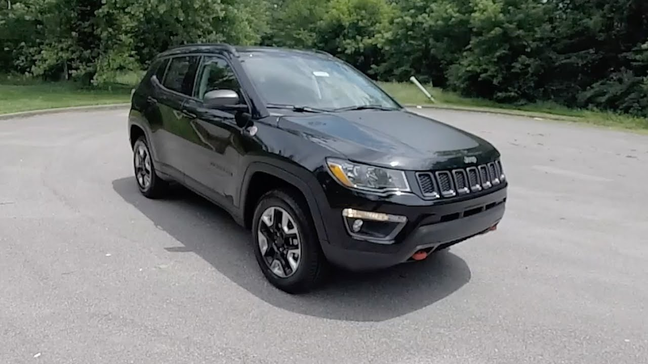 2017 jeep compass trailhawk 4x4 walk around video in depth review youtube. Black Bedroom Furniture Sets. Home Design Ideas