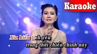 Karaoke Người Tình Và Quê Hương (Beat Chuẩn) - Karaoke Tone Nữ || Hoa Hậu Kim Thoa Karaoke