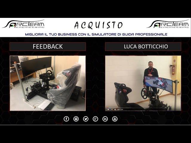 OPINIONE ACQUISTO SIMULATORE - LUCA BOTTICCHIO, IMPRENDITORE
