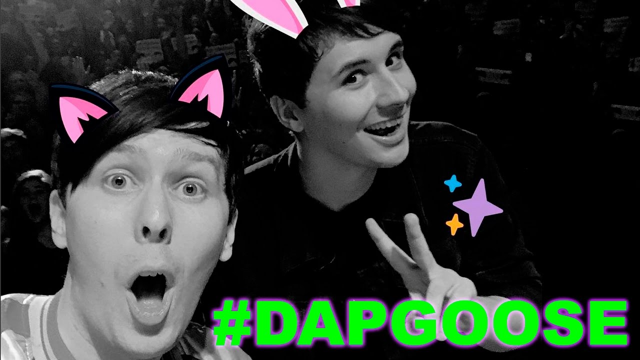Dapgoose The Dan And Phil Go Outside On Stage Event In Los Angeles