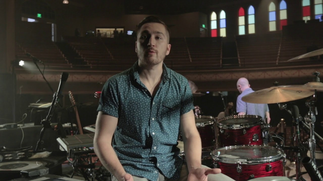 Tyler Ritter of Moon Taxi & his Mapex Saturn V Drum Kit - YouTube
