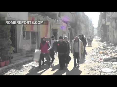 Campaign launched to open the city of Aleppo in war torn Syria