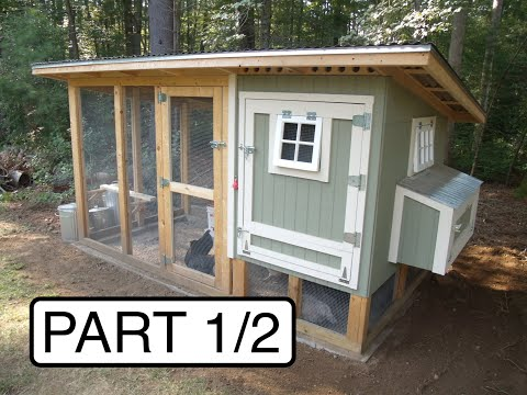 My Chicken Coop:  Design and Build