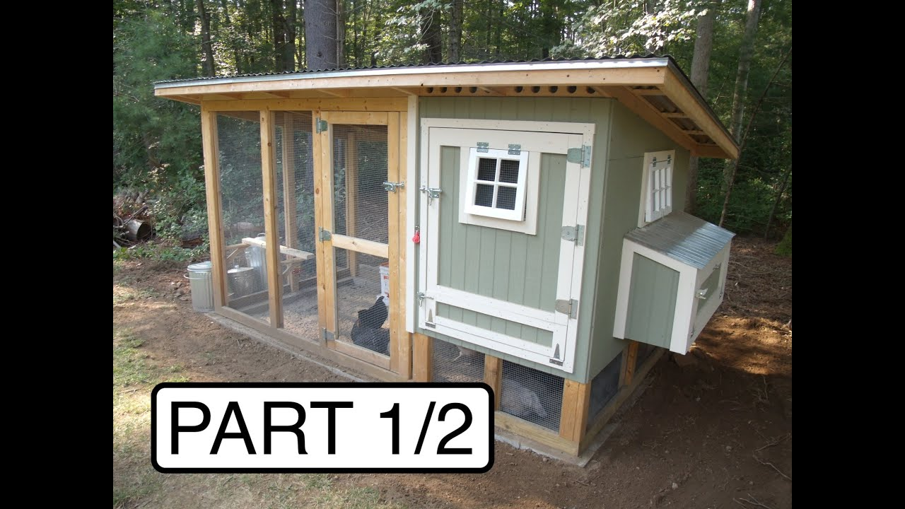 My Chicken Coop: Design and Build (Part 1/2) - YouTube