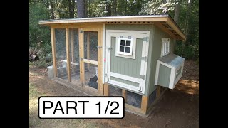"My chicken coop design and how I built it. If you learned something from this video, a ""thumbs up"" is appreciated. Making the"
