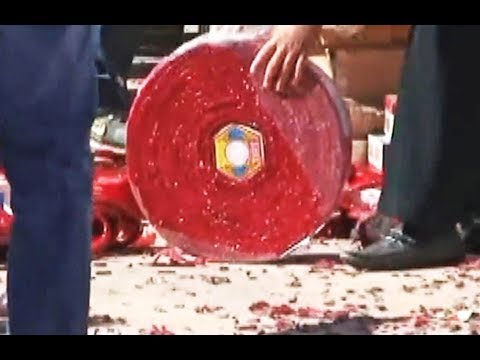 PHAO TET DAI NHAT CALIFORNIA - Longest Firecrackers SHOW  In USA - 220,000 Pieces -DU LICH MY