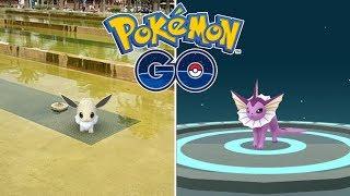 COMMUNITY DAY DE EEVEE DÍA 1! TODAS LAS EVOLUCIONES QUE QUIERO! (PARTE 2) [Pokémon GO-davidpetit]