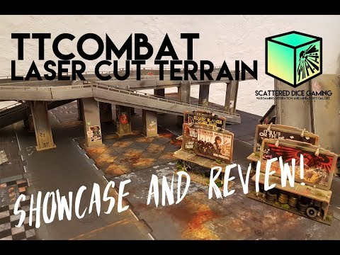TTCombat Laser Cut Terrain Showcase And Review!
