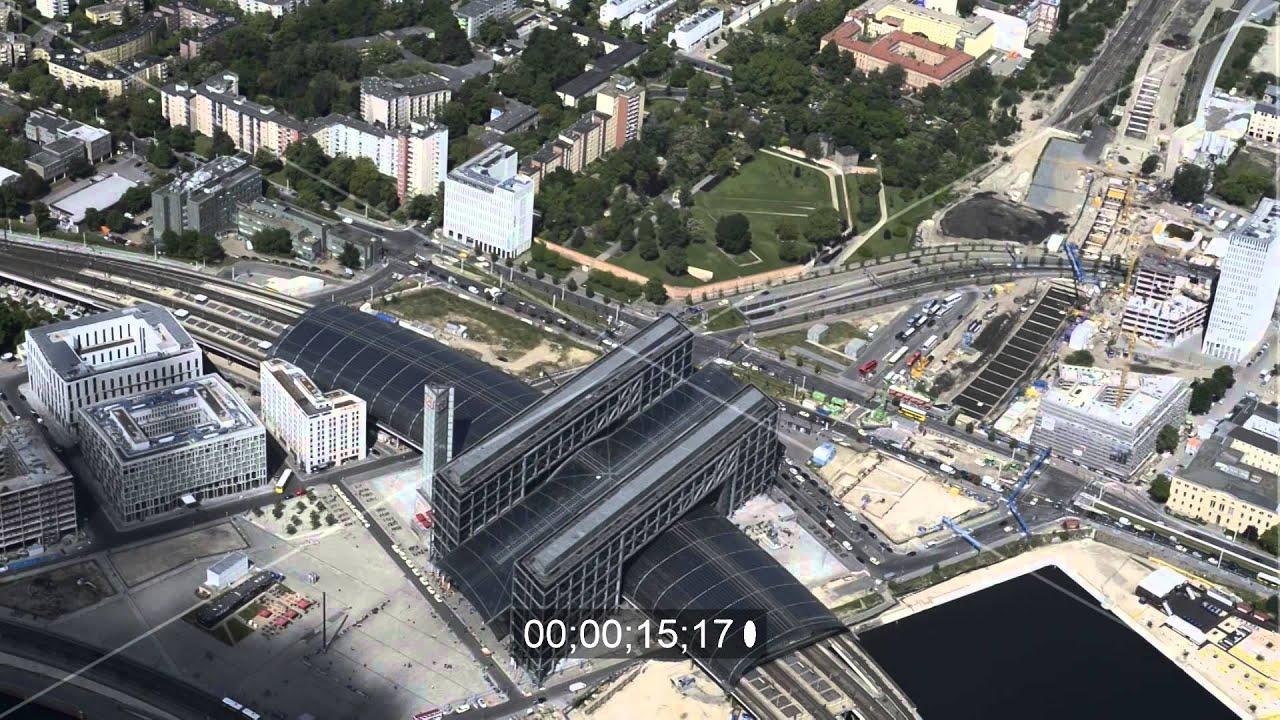 areal am berliner hauptbahnhof am spreeufer zum humboldthafen in berlin youtube. Black Bedroom Furniture Sets. Home Design Ideas