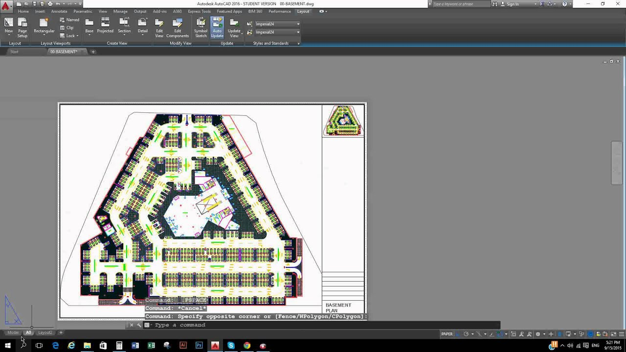 How To Set Plot Area In Autocad 2016 In Hindi Tutorials