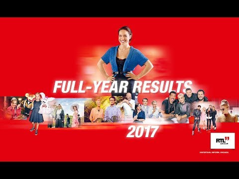 RTL Group Full-Year Results 2017