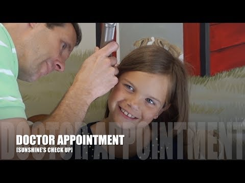 DOCTOR APPOINTMENT [SUNSHINE'S CHECK UP]