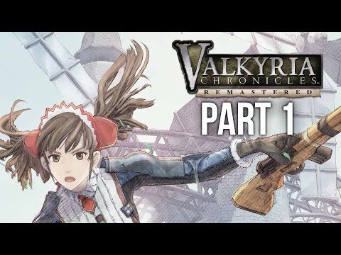 Valkyria Chronicles Remastered PS4 Gameplay Walkthrough Part 1 - THE WAR BEGINS