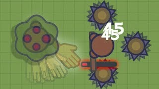 NEW INVISIBLE HAND WEAPON BUSH TROLLING UPDATE IN MOOMOO.IO! | MC GRABBY STEALS GOLD | Moomoo funny