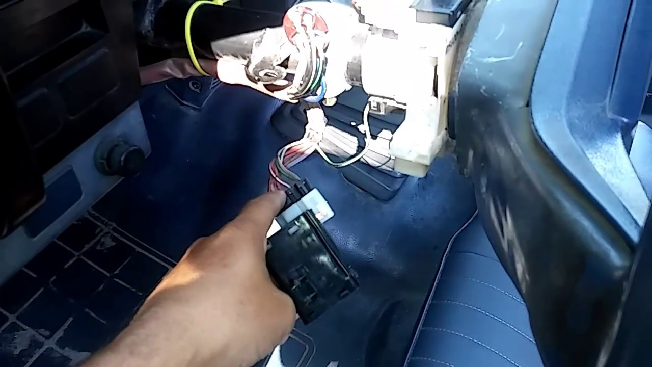 hight resolution of 86 nissan d21 signal switch fix