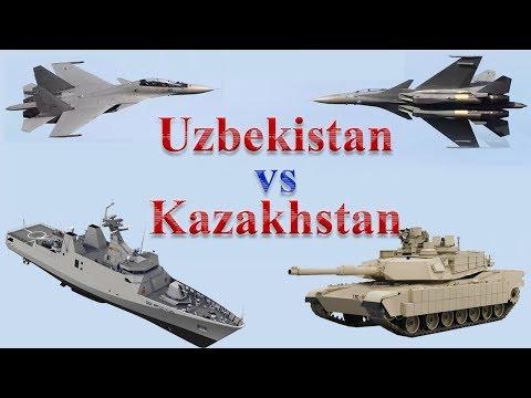 Uzbekistan vs Kazakhstan Military Power 2017