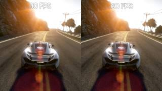 30FPS vs 60FPS - Project CARS | McLaren P1 @ California Coast
