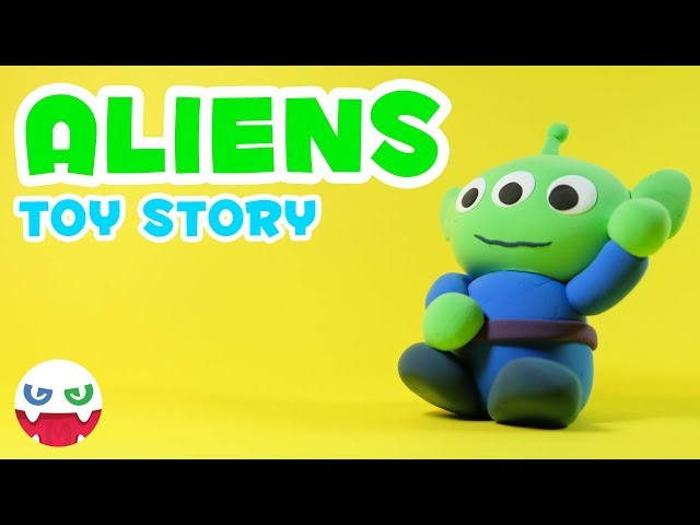How to Make a Toy Story Aliens with Clay [Toy Story]