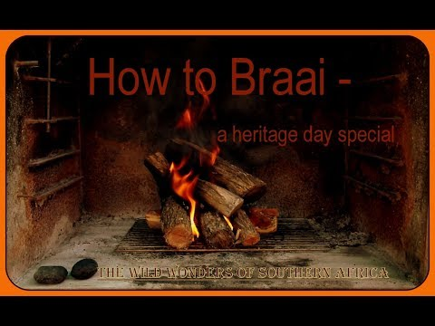 How to BRAAI - a heritage day special