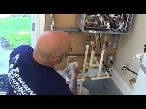 Rinnai tankless varmvattenberedare krok upp