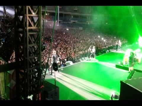 20130818 Metallica - Master Of Puppets (Seoul, South Korea) - stagecam