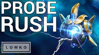 StarCraft 2: The 200 IQ Probe Rush!