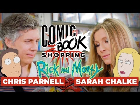 Sarah Chalke & Chris Parnell Talk Rick and Morty Season 3 and Go Comic Book Shopping