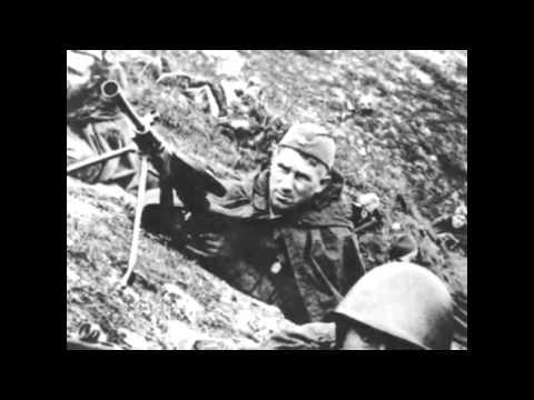 Песни военных лет. Попурри. Исп. ансамбль Къарча