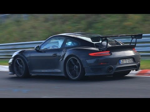 2018 Porsche 911 GT2 RS- Sounds on the Nurburgring Nordschleife