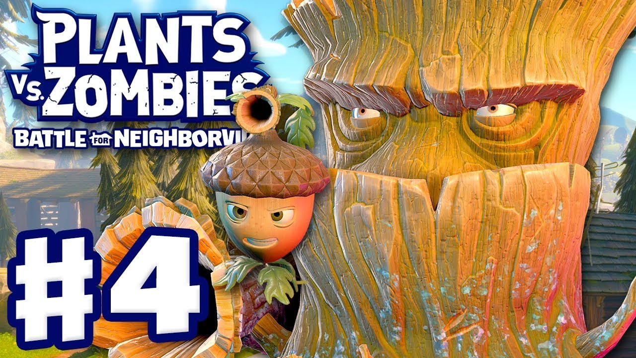 Download Acorn and Oak! - Plants vs. Zombies: Battle for Neighborville - Gameplay Part 4 (PC)
