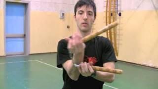 NUNCHAKU - Rotazioni alternate sui polsi (Easy)