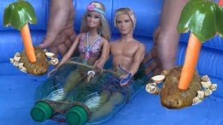 Игры Барби Видео - PlayLAPLay Барби и Кен Едут на Пляж Смотреть Онлайн