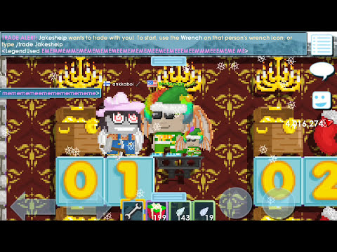 Growtopia | ANGEL CHEST GAME!!!