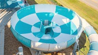 Splashway - Tubular Tornado | Space Bowl Trichterrutsche POV
