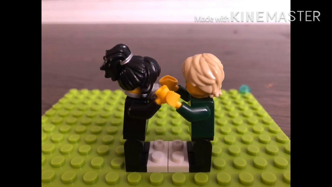 lego ninjago tournament nya vs lloyd  youtube