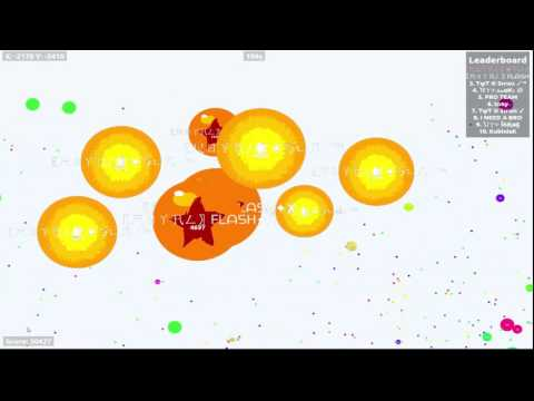 Royal vs UY ►Agario Clanwar◄ OVER 》30.000 《 Epic Teamplay
