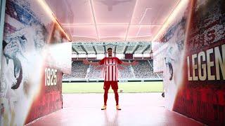 Μέλος της οικογένειας του Ολυμπιακού ο Ρούμπεν Βινάγκρε/Vinagre is a member of the Olympiacos family