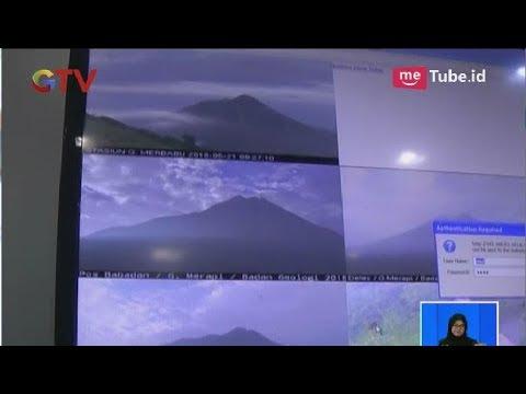 Terdengar Gemuruh, Gunung Merapi di Magelang Kembali Keluarkan Letusan Freatik - BIS 21/05