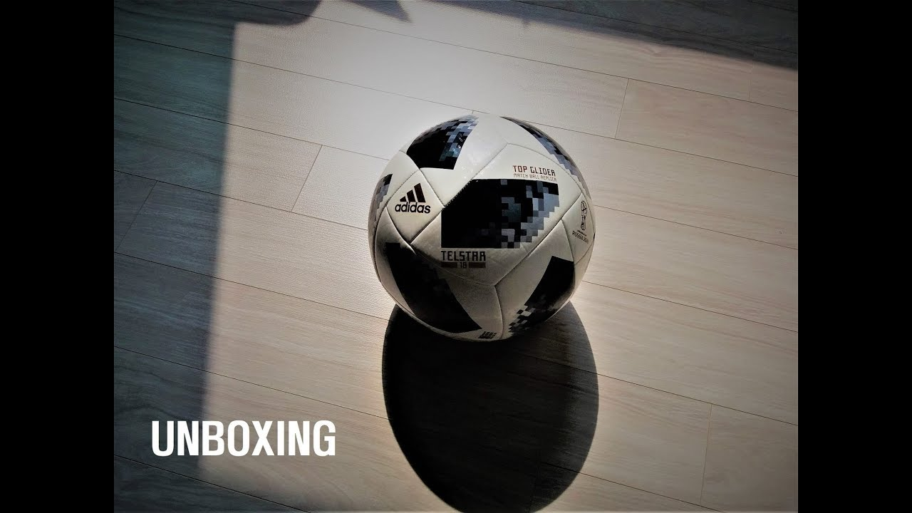 Unboxing   ADIDAS TELSTAR 18┃ RUSSIA 2018 FIFA WORLD CUP┃OFFICIAL MATCH  BALL ( 텔스타18 ) 언박싱 ed7bbd04c08ea