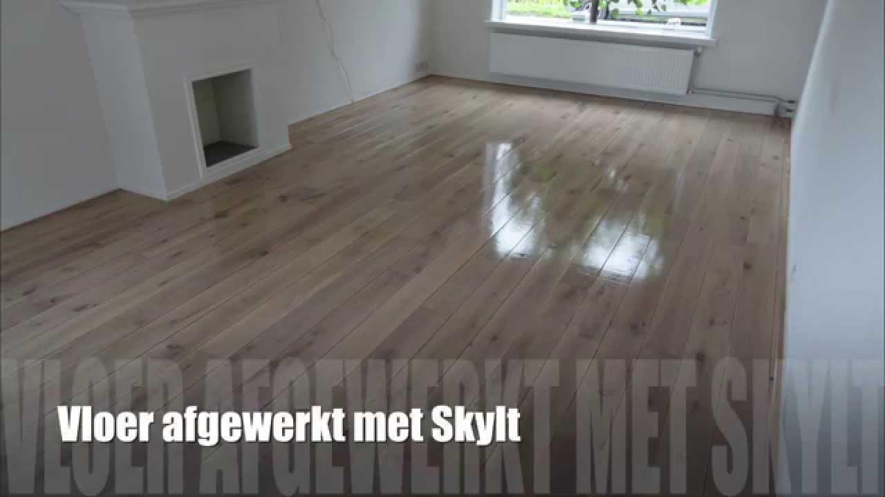 Een vloer schuren in minuten youtube