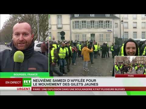 Le point à Bourges, centre névralgique de l'acte 9 des Gilets jaunes