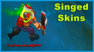 All Available Singed Skins (League of Legends)