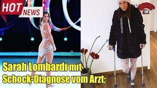 Sarah Lombardi mit Schock-Diagnose vom Arzt
