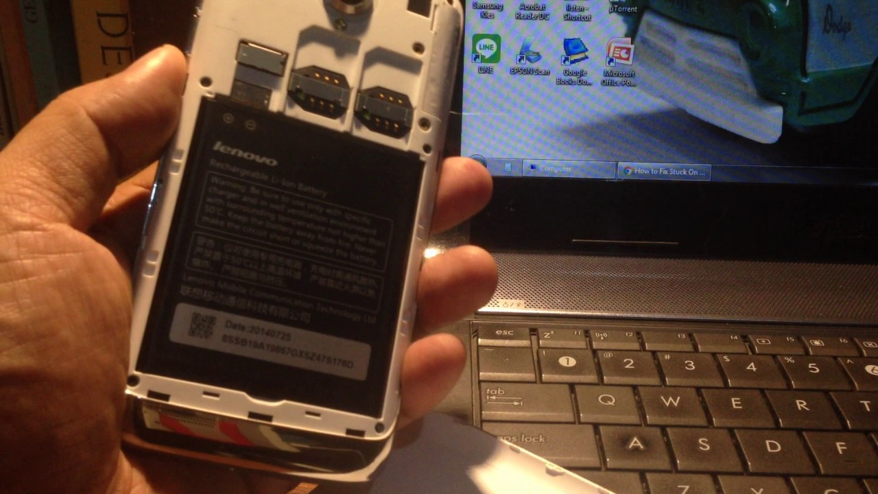Gagal Total Unbrick Dengan One Click Lenovo S650 Mati Total Youtube