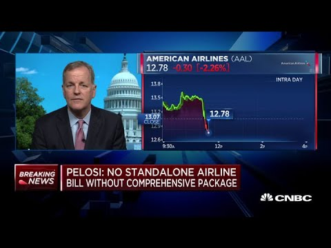 American Airlines CEO: There Is Enormous Bipartisan Support For Extension Of Payroll Support Program