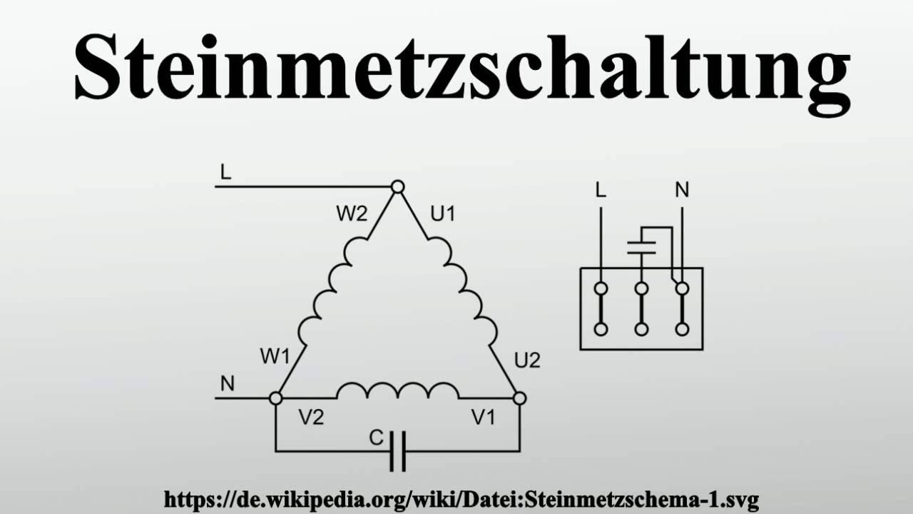 Steinmetzschaltung - YouTube